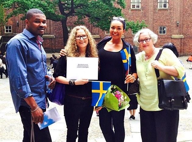 اخذ تابعیت کشور سوئد