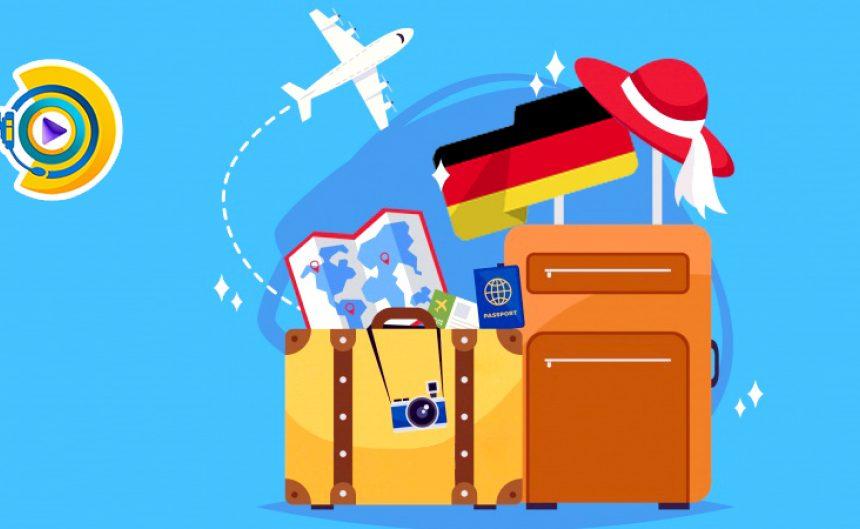 هنرمند های حرفه ای برای شرکت در جشنواره ها به کشور آلمان سفر می کنند